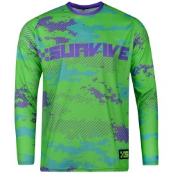 XSURVIVE Pro Green 2017 New Mens BMX Bike Jersey Men Downhill Montain Bike Motocross