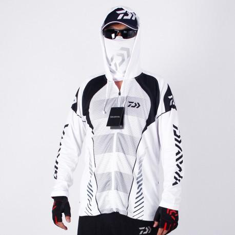 High Quality Outdoor Men Fishing Sportswear Original Hooded Jersey