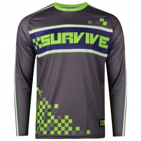 XSURVIVE Pro Grey 2017 Downhill Jersey