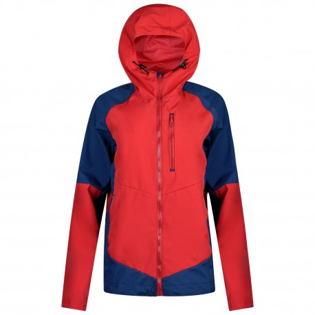 XSURVIVE softshell blue red light jacket for outdoor and everyday use