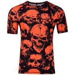 XSURVIVE Neon Skulls Rashguard