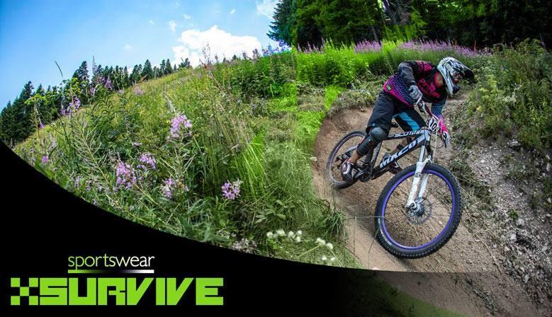 XSURVIVE Pro Purple Illusion 2017 Downhill Jersey